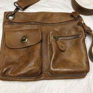 Vintage Roots Genuine Leather Crossbody Bag
